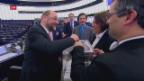 Video «Wahl des EU-Parlamentspräsidenten» abspielen
