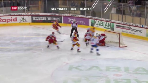 Video «NLA: SCL Tigers - Kloten Flyers» abspielen
