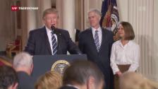 Video «Trump präsentiert Gorsuch» abspielen