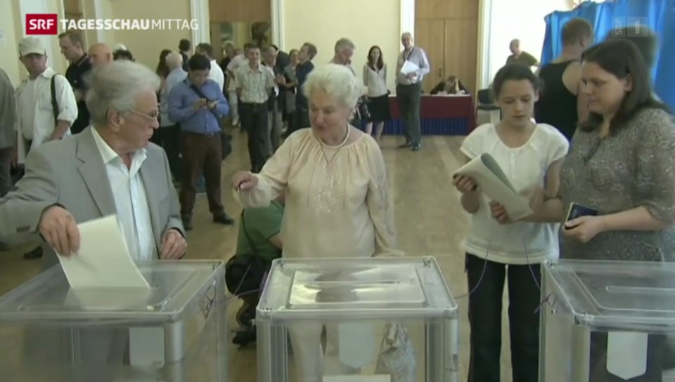 Wegweisende Präsidentenwahl in der Ukraine