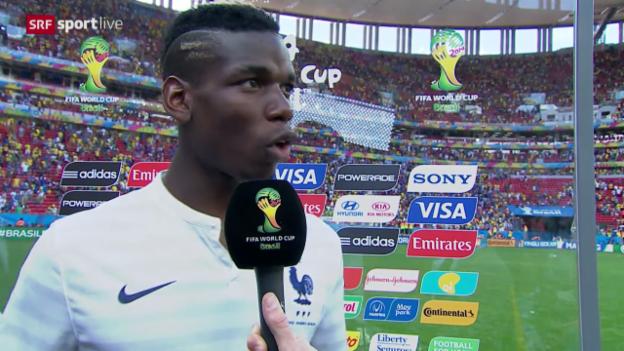 Video «Interview mit Paul Pogba» abspielen