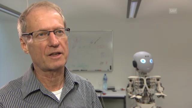 Professor Rolf Pfeifer über sehnengesteuerte Robotik