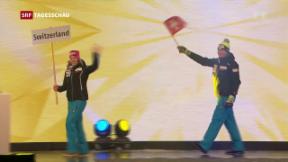 Video «Ski-WM Eröffnung in St. Moritz» abspielen