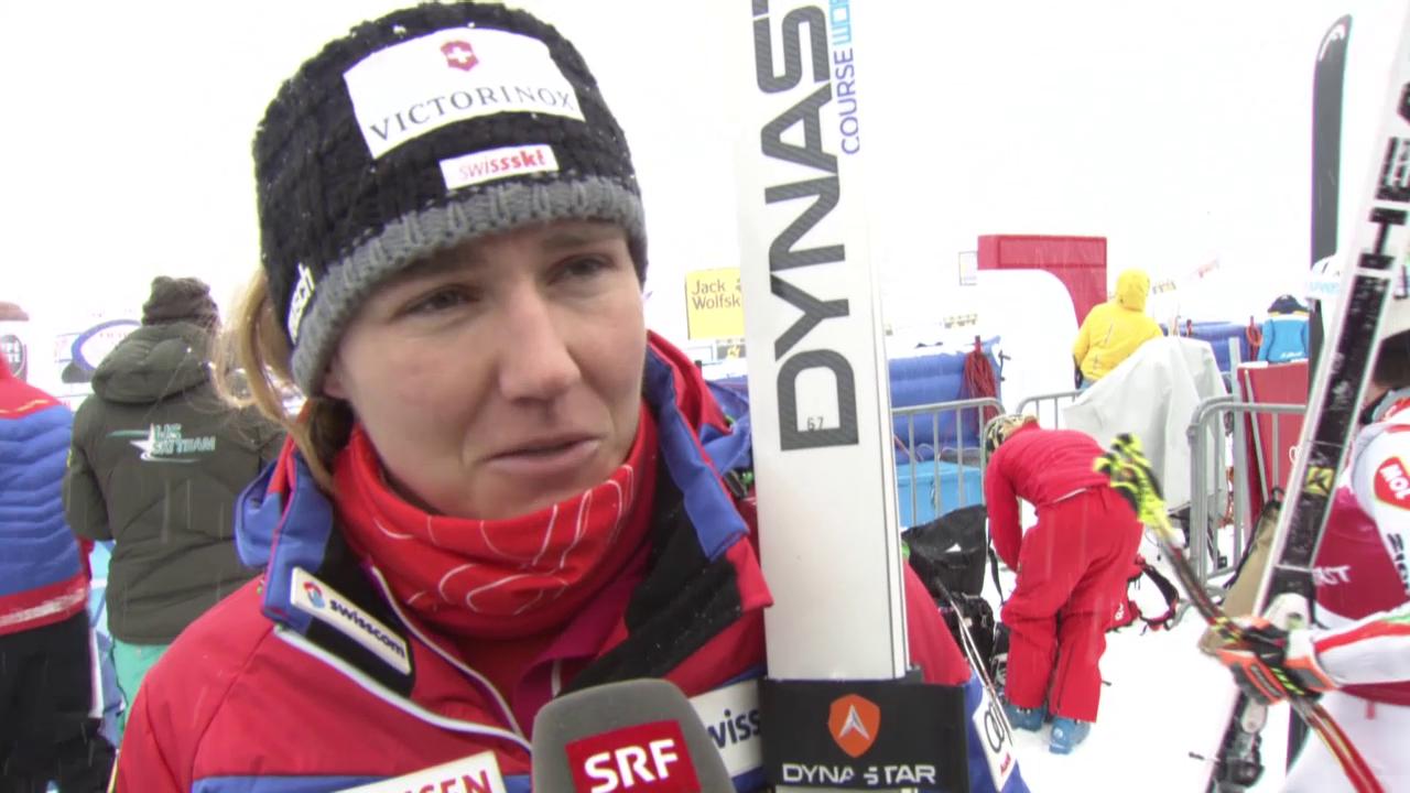 Ski alpin: Fabienne Suter über die WM-Abfahrtsstrecke «Raptor»