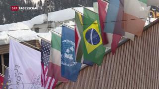 Video «Die grossen Abwesenden prägen das WEF in diesem Jahr» abspielen