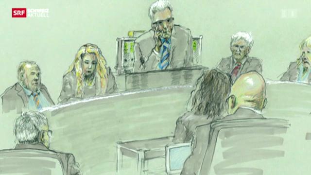 Angeklagter im «Heiler-Prozess» vor Gericht