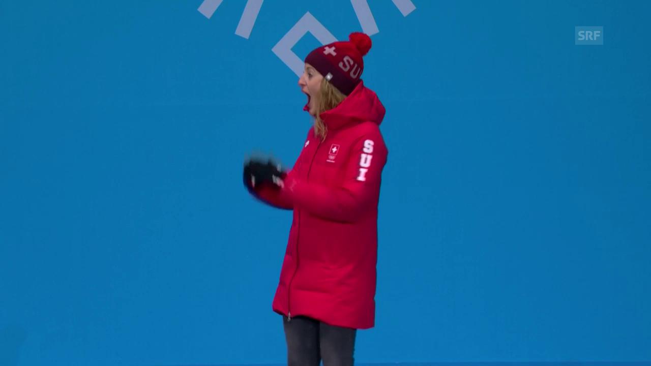 «Bronze geht an Italien... äh die Schweiz»