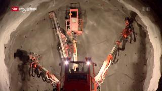 Video «Bauen im Berg: Jumbo, Toro und schlechte Luft (3/6)» abspielen