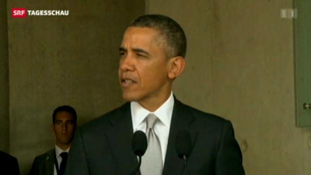 Video «Obama vermittelt zwischen Israel und Türkei» abspielen