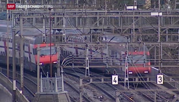 Video «Bund und Kantone werben für Bahnvorlage Fabi» abspielen