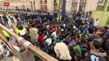 Video «Flüchtlingskrise in Europa, USA nehmen Syrer auf» abspielen