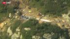 Video «Vier Tote bei Helikopterabsturz im Kanton Uri» abspielen