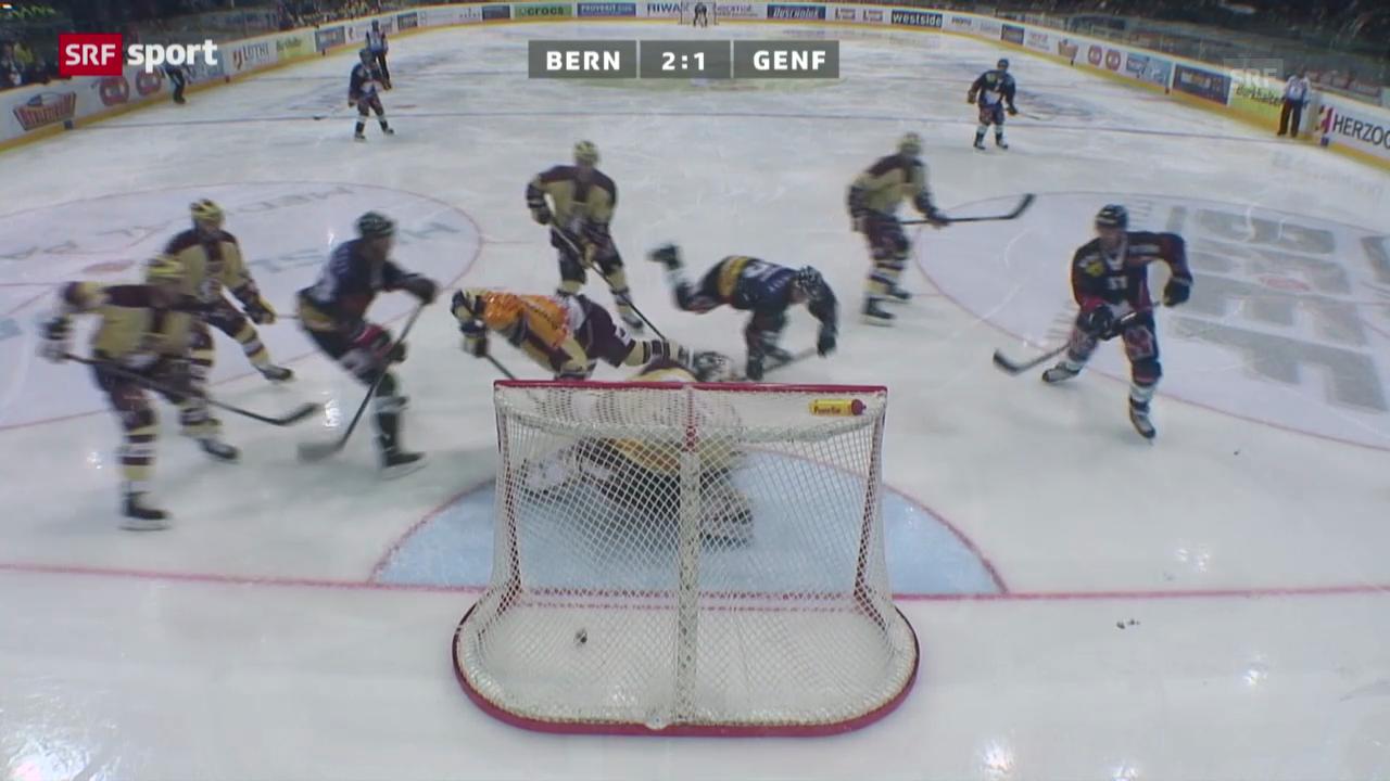 Eishockey: NLA, Bern - Genf
