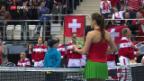 Video «Das Schweizer Fed-Cup-Team im Tal der Tränen» abspielen