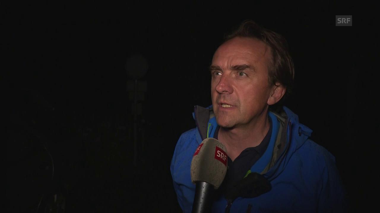 Christian Gartmann, Sprecher von Bregaglia, zum Murgang