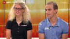Video «Mountainbike: Studiogäste Nino Schurter und Jolanda Neff (I)» abspielen