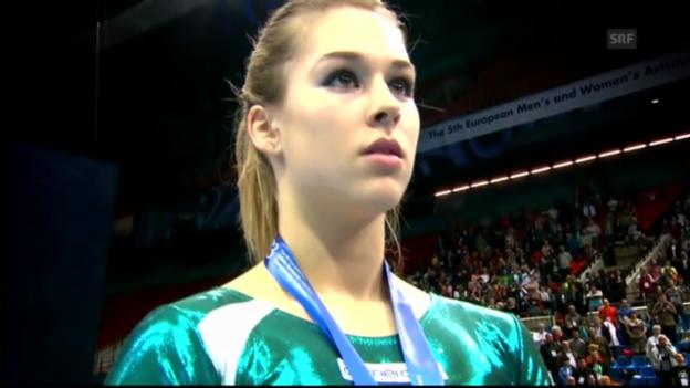 Video «Steingruber ist Europameisterin («sportaktuell»)» abspielen