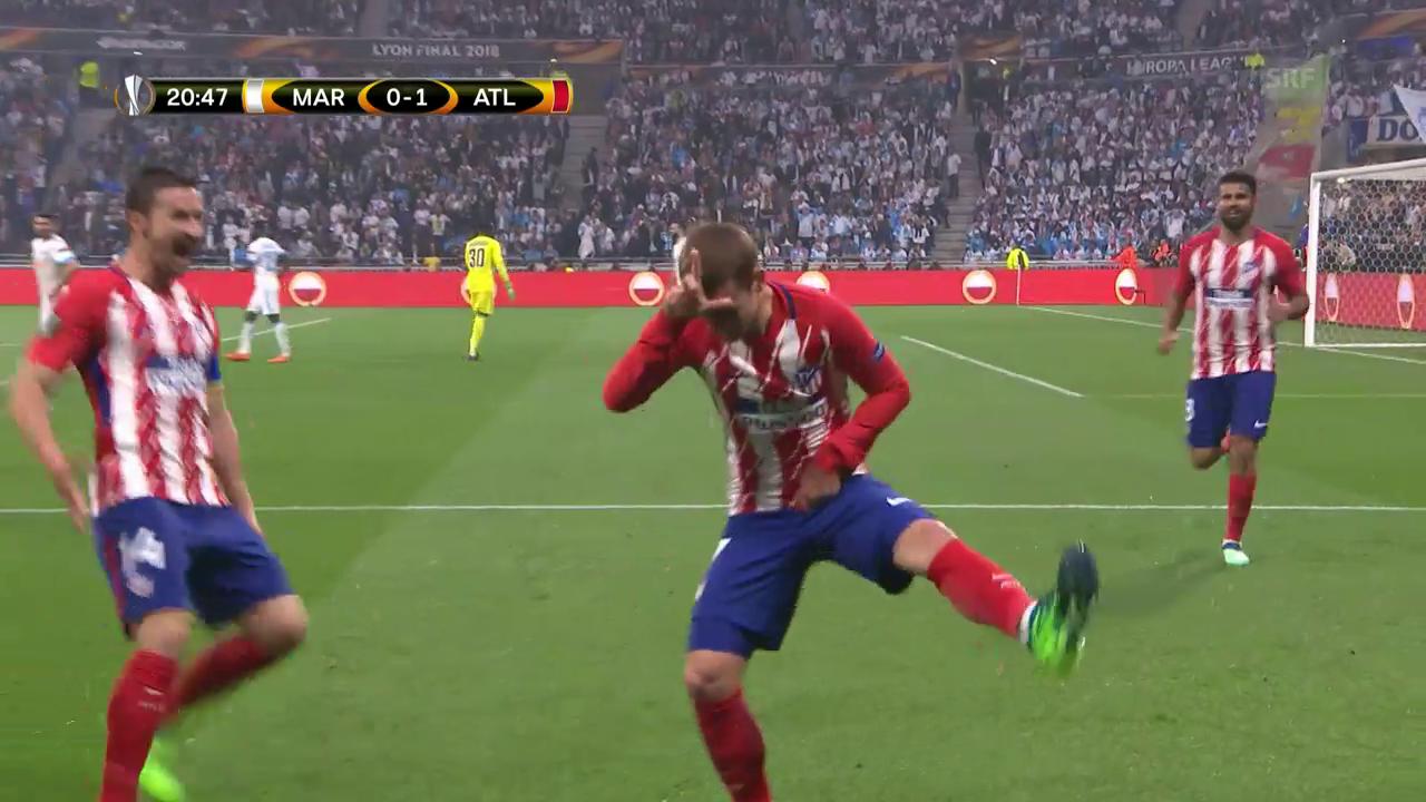 Antoine Griezmann schießt Atletico Madrid zum EL-Sieg