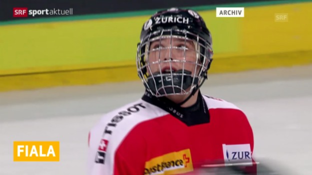 Video «Eishockey: Kevin Fiala verpasst Sprung in die NHL» abspielen