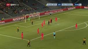 Video «Live-Highlights YB - ZSKA» abspielen