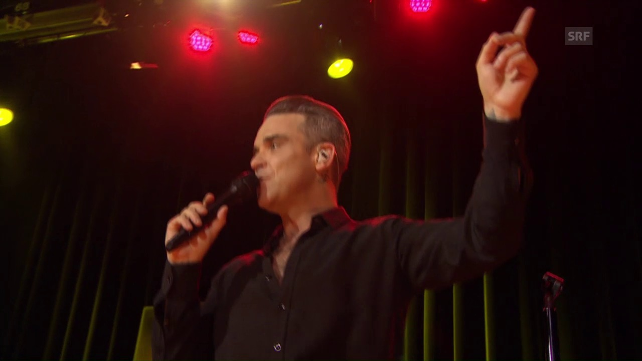 Robbie Williams «Hotel Crazy» – SRF 3 Showcase
