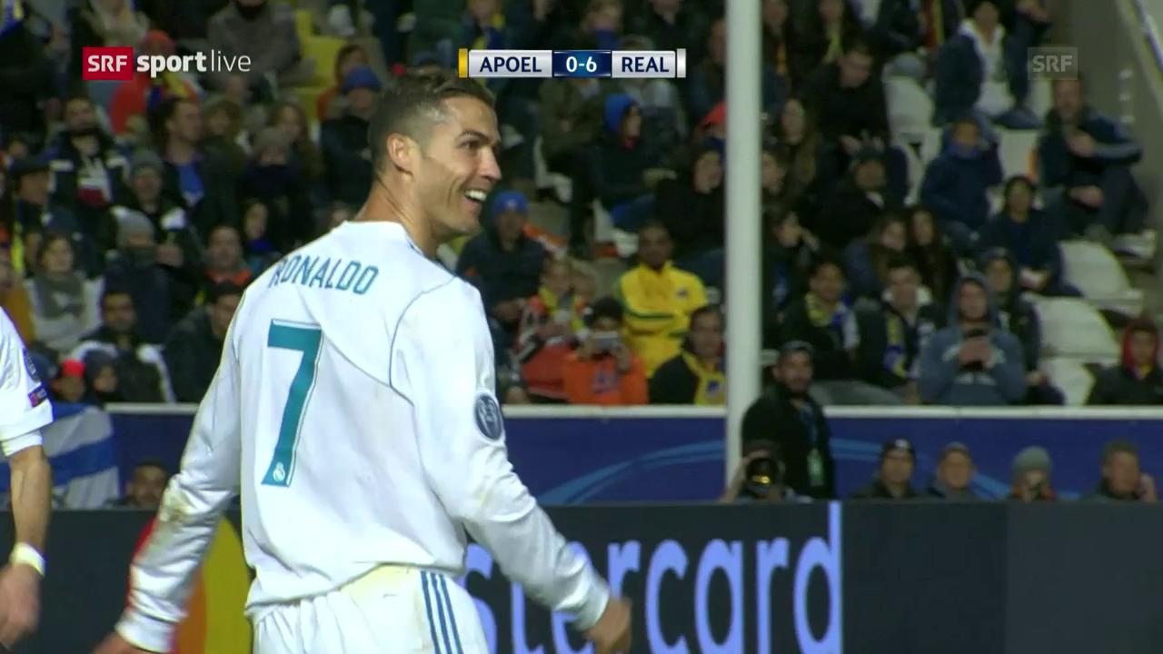 Real Madrid demontiert Nikosia