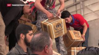 Video «Syrien: Eine der grössten humanitären Katastrophen» abspielen
