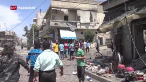 Video «Wann kommt Aleppo zur Waffenruhe?» abspielen