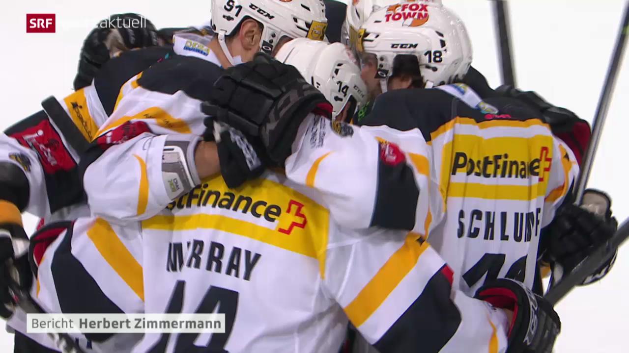 Eishockey: NLA, Fribourg-Gottéron - Lugano