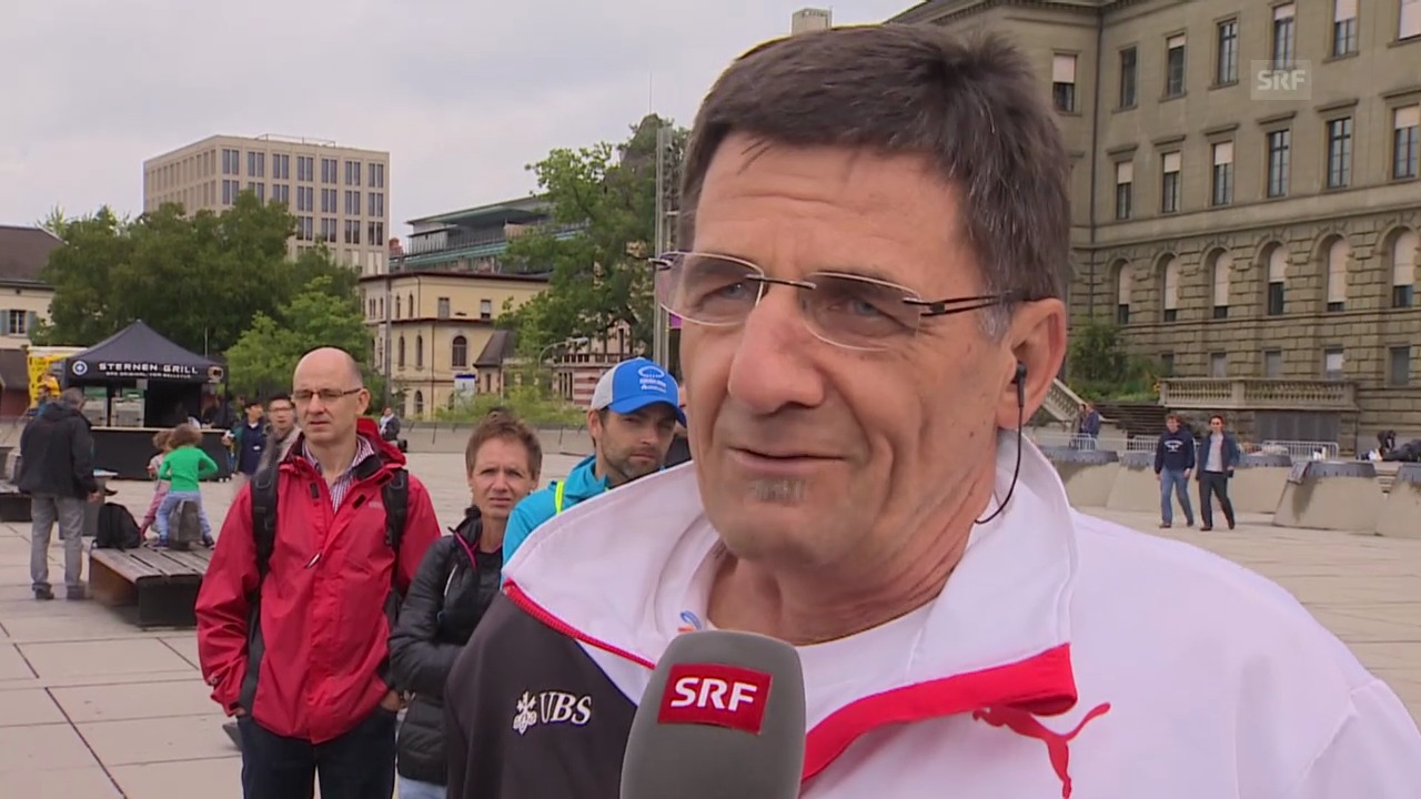 LA: Interview mit Leistungssportchef Swiss Atletics Peter Haas