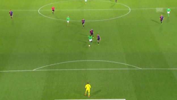 Video «Basel muss sich St. Etienne geschlagen geben» abspielen