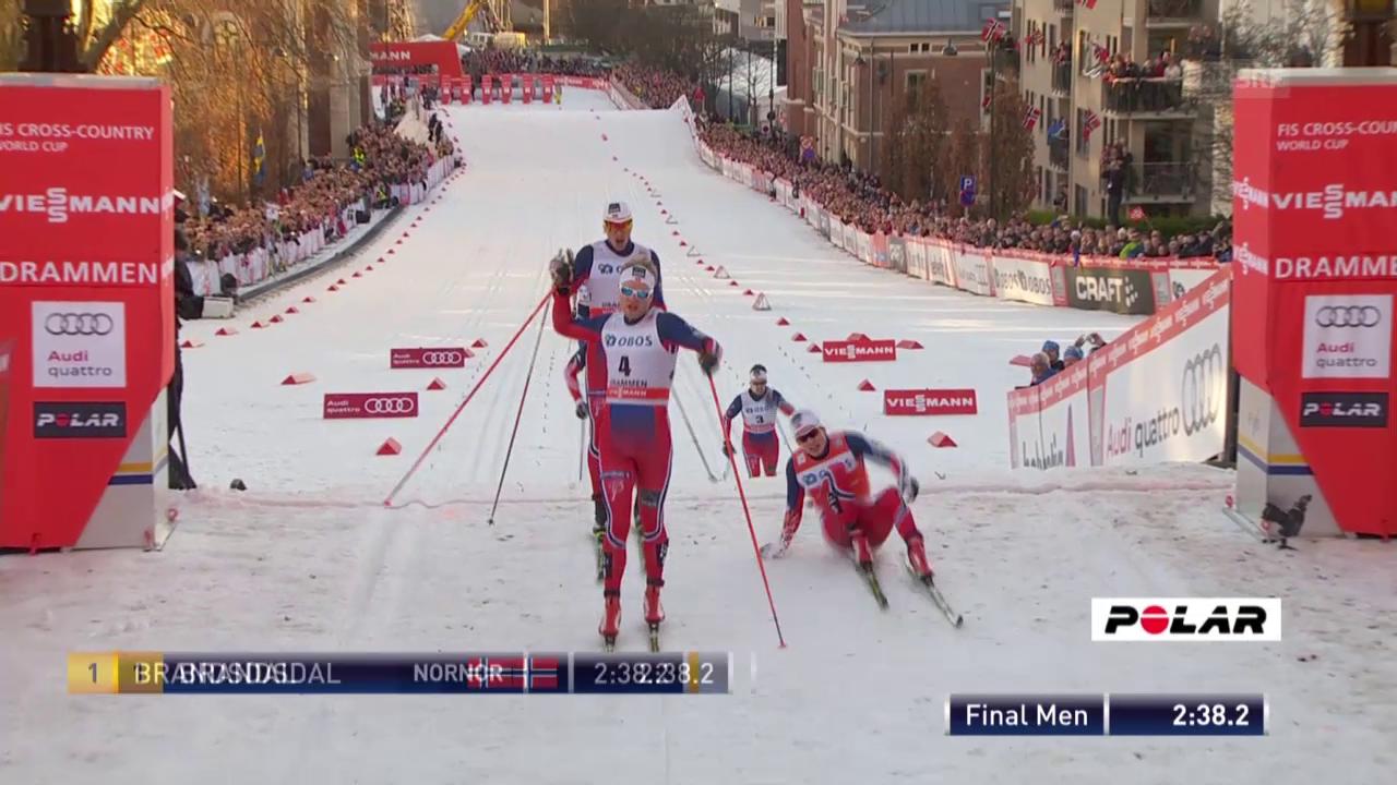 Langlauf: Sprints Männer und Frauen in Drammen