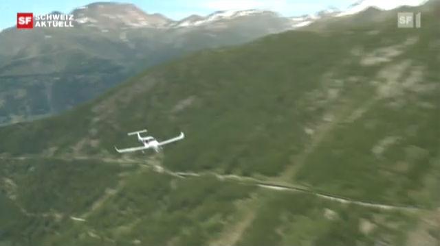 Alpenflug heute