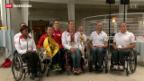 Video «Medaillensegen für Leichtathleten an der Behinderten-WM» abspielen