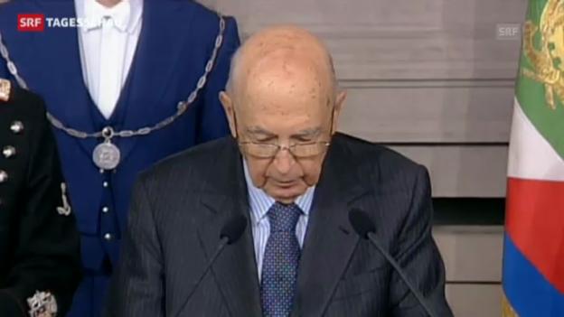 Video «Napolitano gibt nicht auf» abspielen