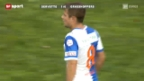 Video «Fussball: SL, Servette - GC» abspielen