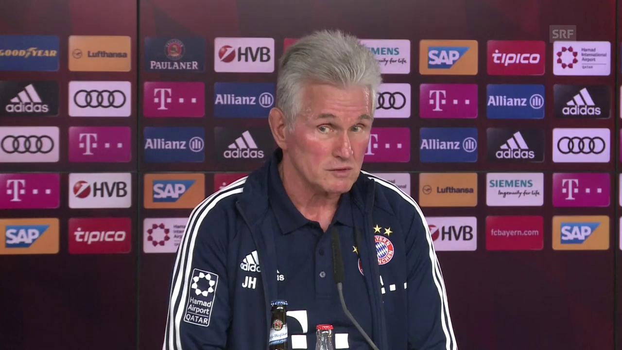 Jupp Heynckes will gegen Dortmund «eine Schippe drauflegen.»