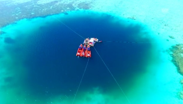 Video «Neues «Blue Hole» entdeckt» abspielen