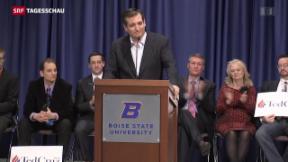 Video «Ted Cruz holt auf» abspielen