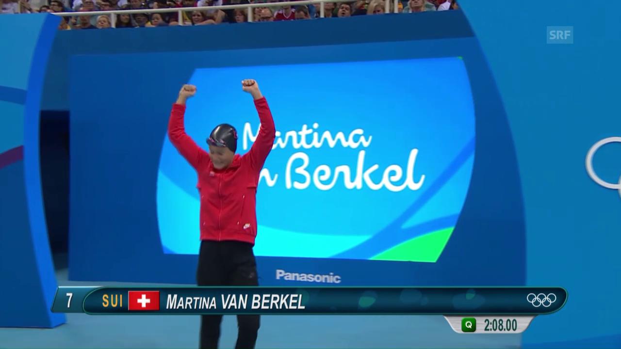 Van Berkels Auftritt im Olympia-Halbfinal