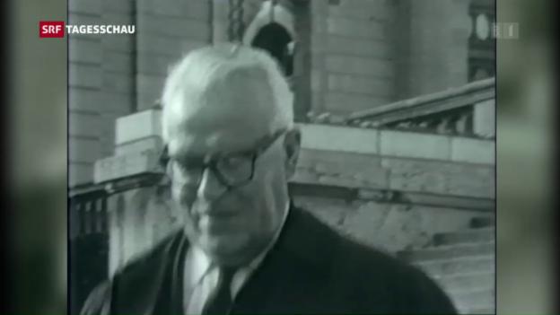 Video «Bund findet keine Hinweise zu Geheimdeal mit PLO» abspielen