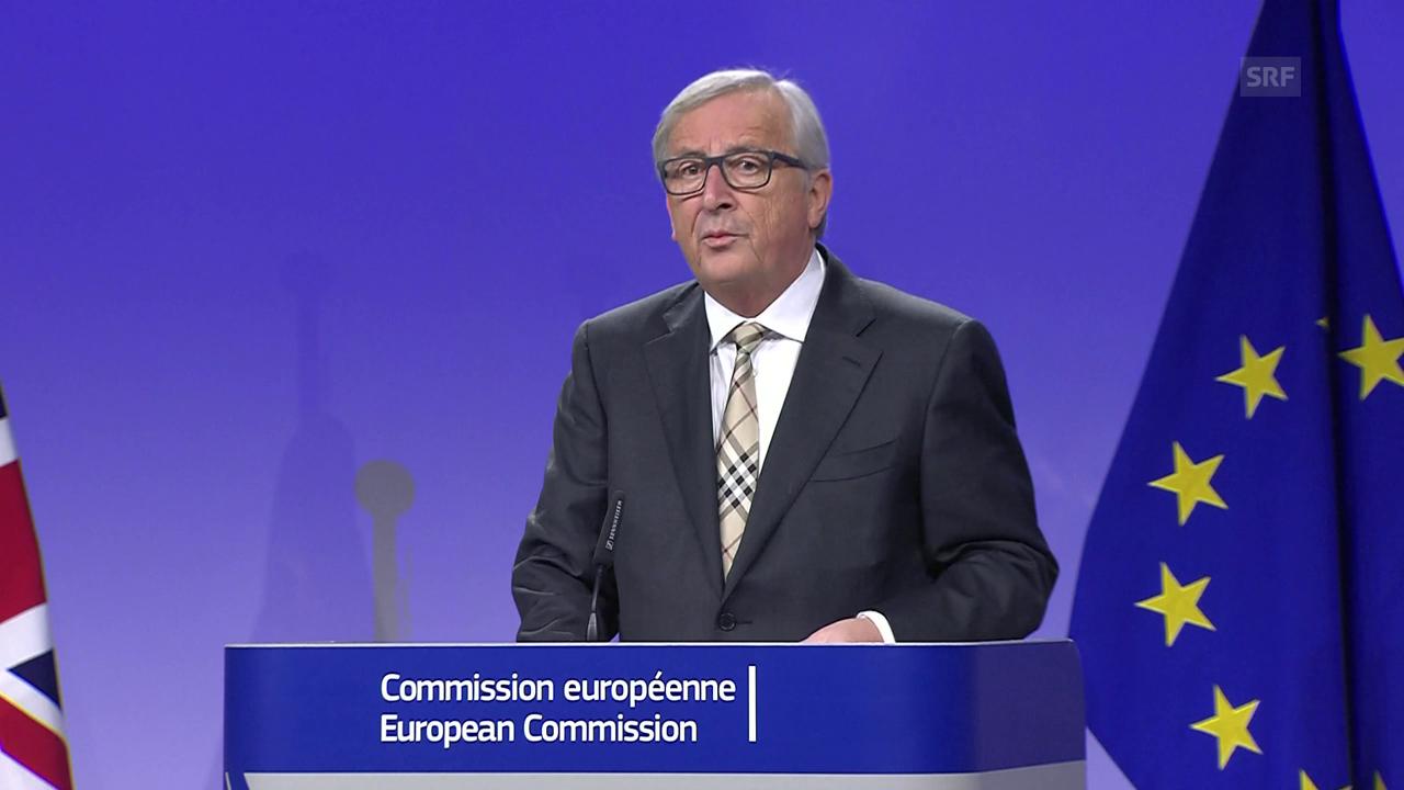 Jean-Claude Juncker: «Wir sind nicht gescheitert» (engl.)