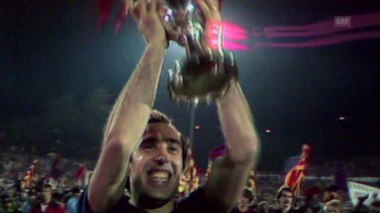 Fussball: Cupsiegercup, Final 1979 in Basel
