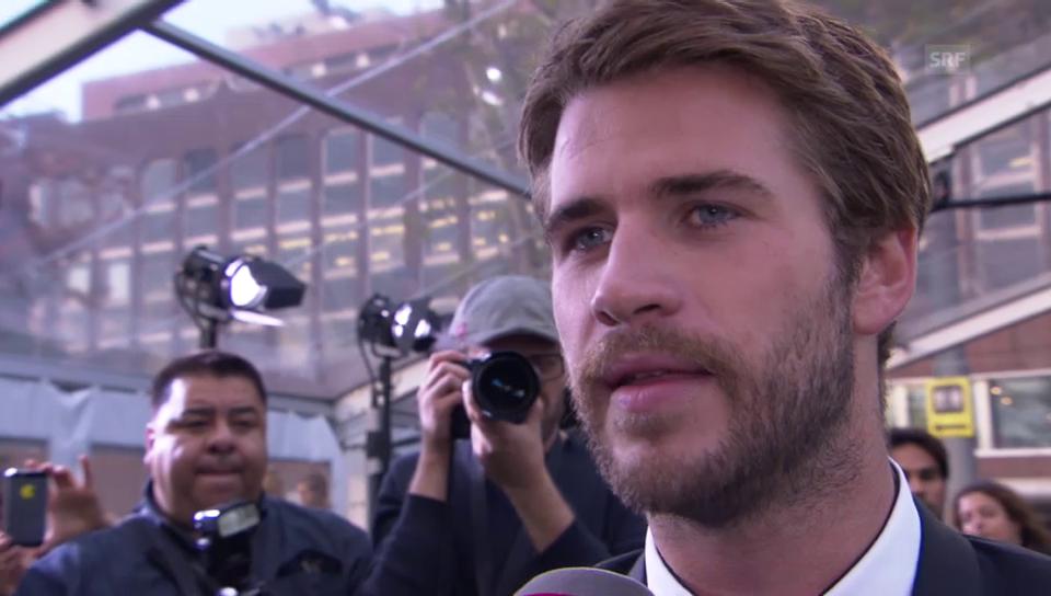 Liam Hemsworth löst Kreisch-Alarm aus