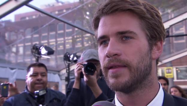 Video «Liam Hemsworth löst Kreisch-Alarm aus» abspielen