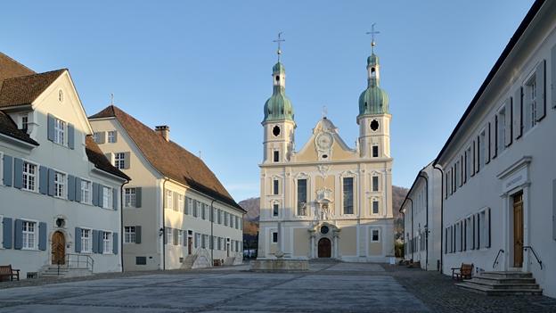 Glockengeläut der Domkirche in Arlesheim