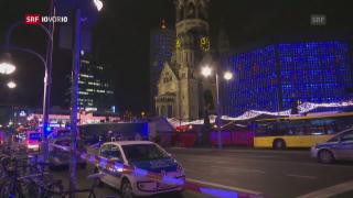 Video «Berlin: LKW rast in einen Weihnachtsmarkt  » abspielen