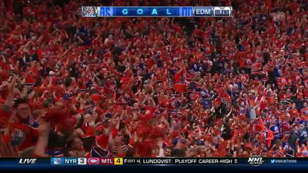 Video «Die NHL-Action von Freitag-Nacht» abspielen
