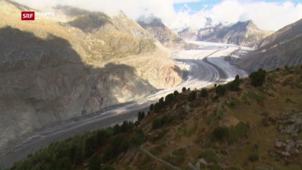 Video «Gesperrte Wanderwege wegen Bergsturzgefahr» abspielen