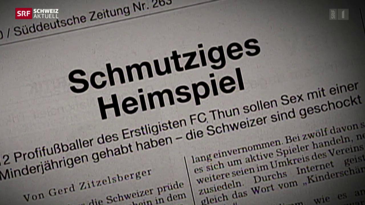 Freispruch für Ex-Spieler des FC Thun